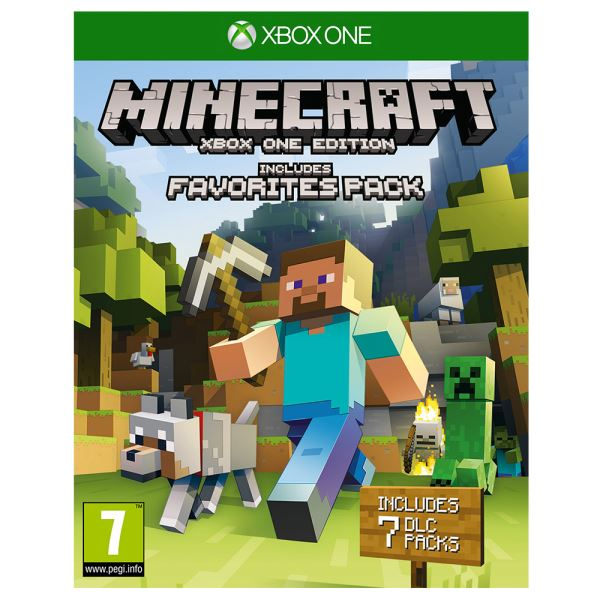 XBOX ONE MINECRAFT FAVOURITES PACK