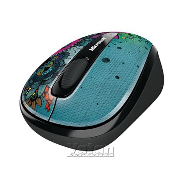 MICROSOFT Wireless Mobile Mouse 3500 - Artist Olofsdotter
