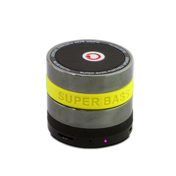 MIKADO MD-BT11 Mini Bluetooth Speaker FM Radyo Destekli - Sarı