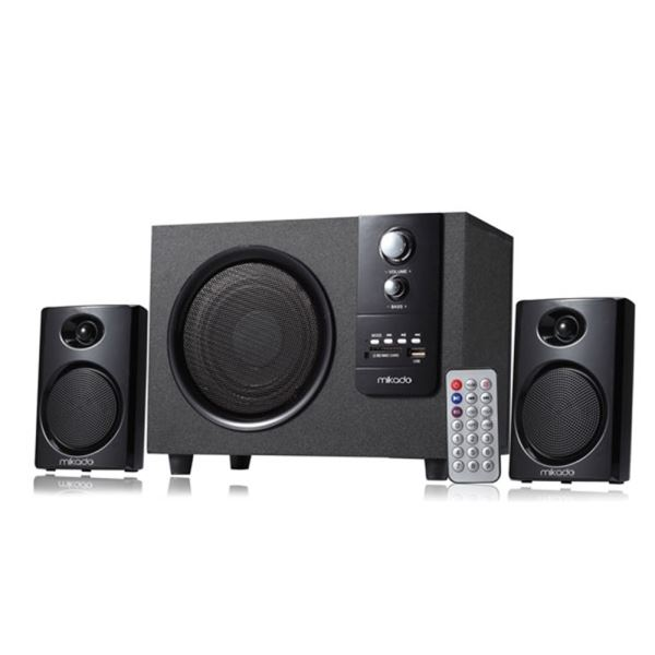 MIKADO MD-329FM 2+1 Usb+SD+Fm Destekli Multimedia Speaker