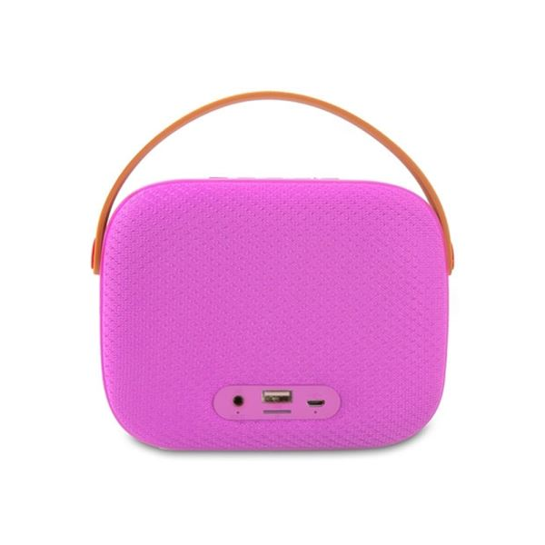 MIKADO MD-58BT Pembe Usb-TF Destekli Bluetooth Taşınabilir Speaker
