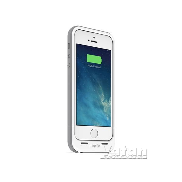 MP.2396.JPP.IP5.WHT.I İPHONE5 ŞARJLI KILIF
