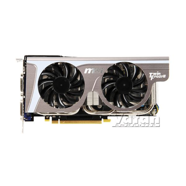 GTX560 Twin Frozr II/OC GDDR5 1GB 256Bit Nvidia GeForce DX11 Ekran Kartı