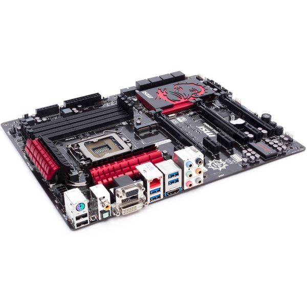 MSI Z87-GD65 GAMING Intel Z87 Soket 1150 DDR3 3000MHz(O.C.) Anakart