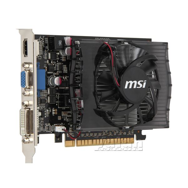 MSI GT630 DDR3 2GB 128Bit Nvidia GeForce DX 11 Ekran Kartı