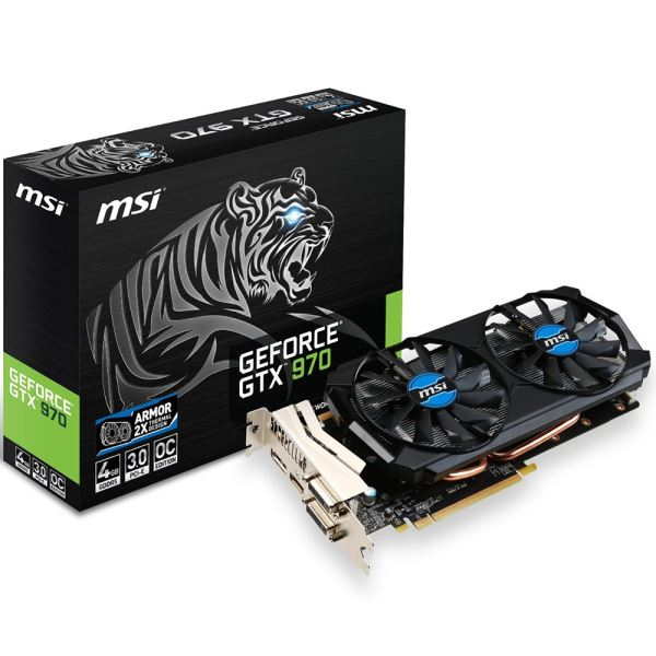 MSI GTX970 TIGER GDDR5 4GB 256Bit Nvidia GeForce DX12 Ekran Kartı