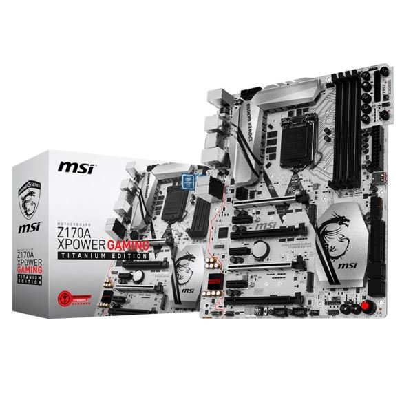 MSI Z170A XPOWER GAMING TITANIUM EDITION Soket 1151 DDR4 3600MHz(OC) Anakart