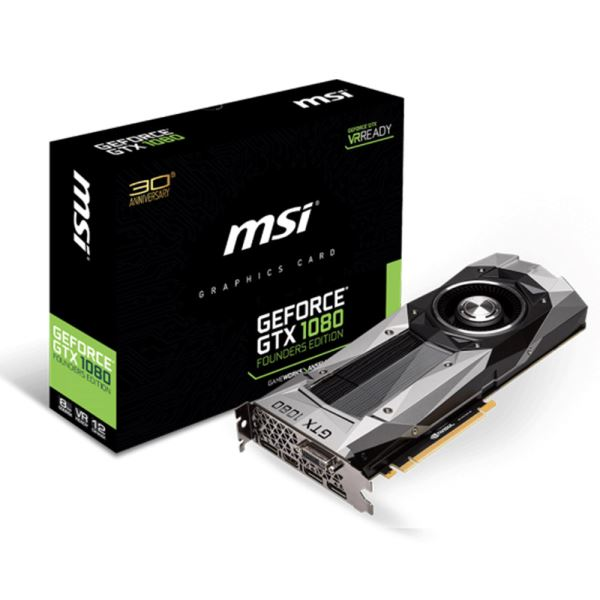 MSI GTX1080 FOUNDERS EDITION 8GB GDDR5X 256Bit DX12 Nvidia GeForce Ekran Kartı
