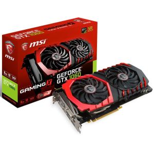MSI GeForce GTX1060 GAMING X 6GB GDDR5 192Bit Nvidia DX12 Ekran Kartı