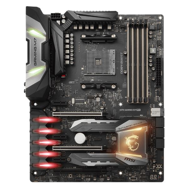 MSI X370 GAMING M7 ACK AM4 AMD Ryzen™ DDR4 3200+MHz(OC) USB 3.1 Anakart