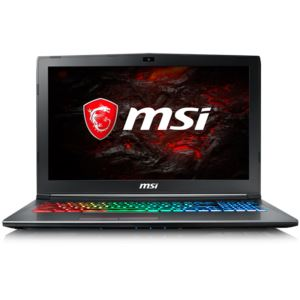 "MSI GF62 CORE İ7 7700HQ 2.8GHZ-8GB-1TB+128SSD-15.6""-GTX1050Tİ 4GB-W10"