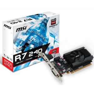 MSI R7 240 1GD3 LP 1GB DDR3 64Bit AMD Radeon DX11.2 Ekran Kartı