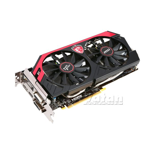 MSI GTX760 Twin FrozrGaming OC GDDR5 2GB 256Bit Nvidi GeForce DX11.1 Ekran Kartı