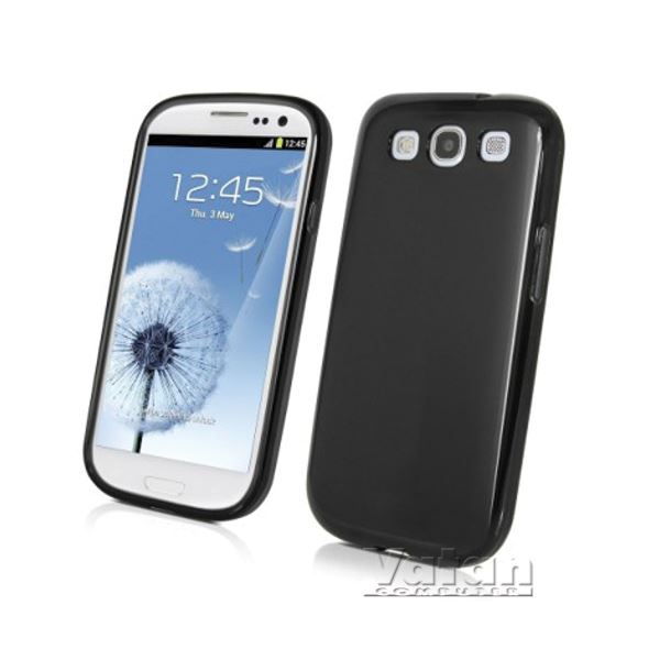 15036 MİNİ GEL GALAXY S3 KILIF- (SİYAH)