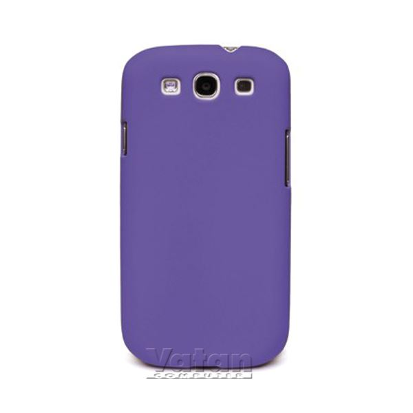 15042 RUBBER BACK GALAXY S3 KILIF- (MOR)