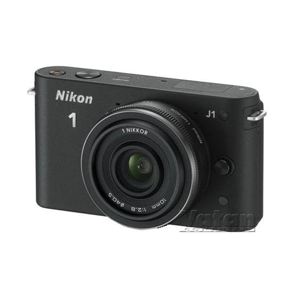 NIKON1 J1 BLACK 10MM LENS KIT 10.1 MP SLR DIJITAL FOTOĞRAF MAKİNESİ