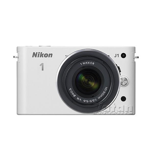 NIKON1 J1 WHITE 10-30MM LENS KIT 10.1 MP SLR DIJITAL FOTOĞRAF MAKİNESİ