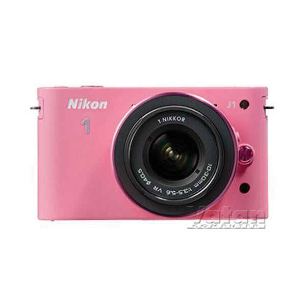 NIKON1 J1 PINK KIT (10MM-30MM&30-110 MM) KIT 10.1 MP SLR FOTOĞRAF MAKİNESİ