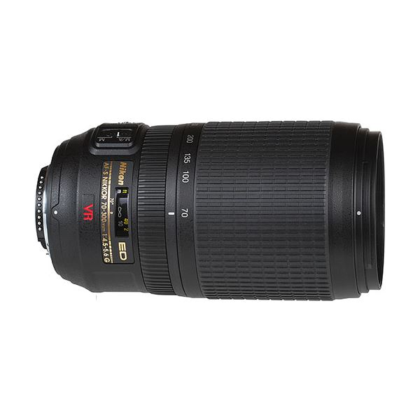 NIKON 70-300mm f/4.5-5.6G IF-ED VR Lens