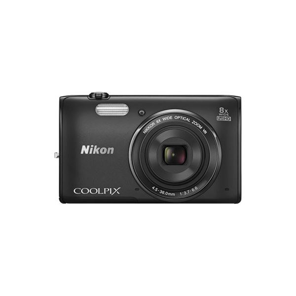 NIKON COOLPIX S5300 16 MP DİJİTAL FOTOĞRAF MAKİNESİ (BLACK)