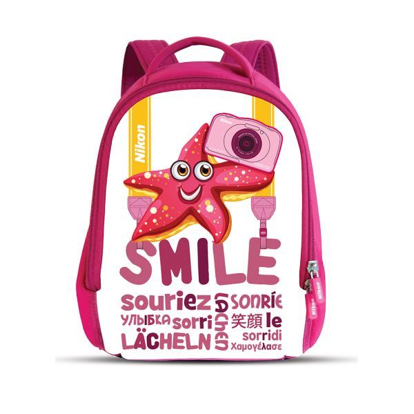 NIKON COOLPIX S33 13.2 MP DİJİTAL KOMPAKT FOTOĞRAF MAKİNESİ (PINK BACKPACK KIT)