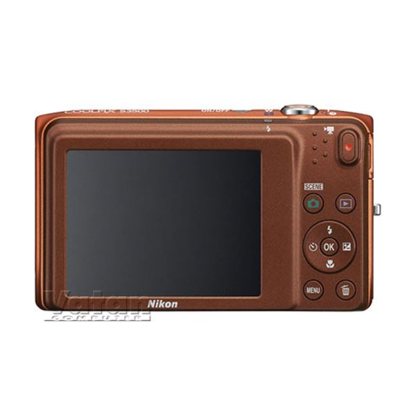 NIKON COOLPIX S3500 20.1 MP 2,7