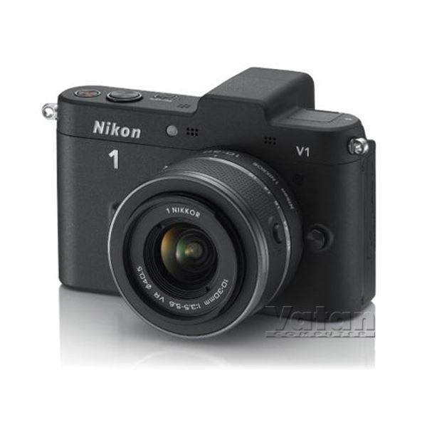 NIKON1 V1 BLACK KIT (10MM-30MM&30-110 MM) KIT 10.1 MP 3