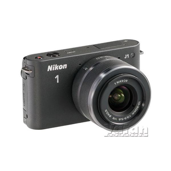 NIKON1 J1 BLACK KIT (10MM&10M-30MM) KIT 10.1 MP SLR  DIJITAL FOTOĞRAF MAKİNESİ