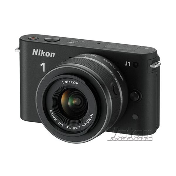 NIKON1 J1 BLACK KIT (10MM-30MM&30-110 MM) KIT 10.1 MP SLR FOTOĞRAF MAKİNESİ
