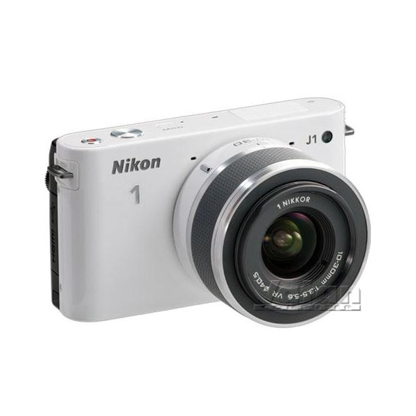 NIKON1 J1 WHITE LENS  (10MM&10M-30MM) KIT 10.1 MP SLR FOTOĞRAF MAKİNESİ