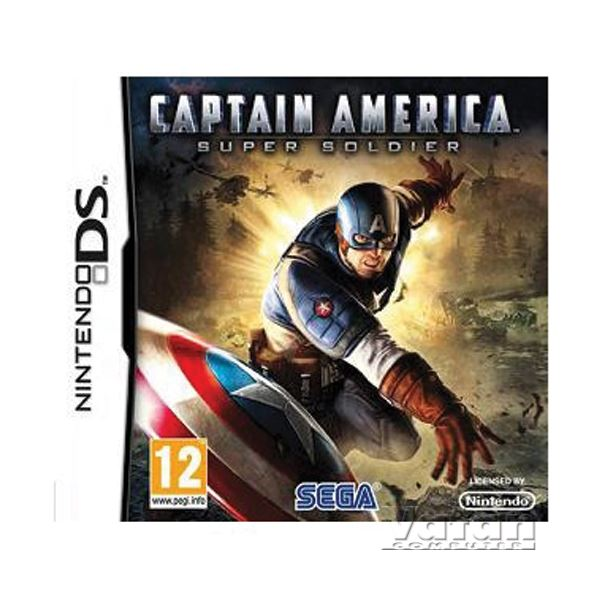 NINTENDO NDS Captain America Super Soldier