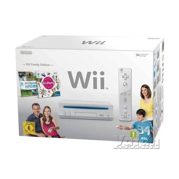 NINTENDO Wii HW White Party Pak