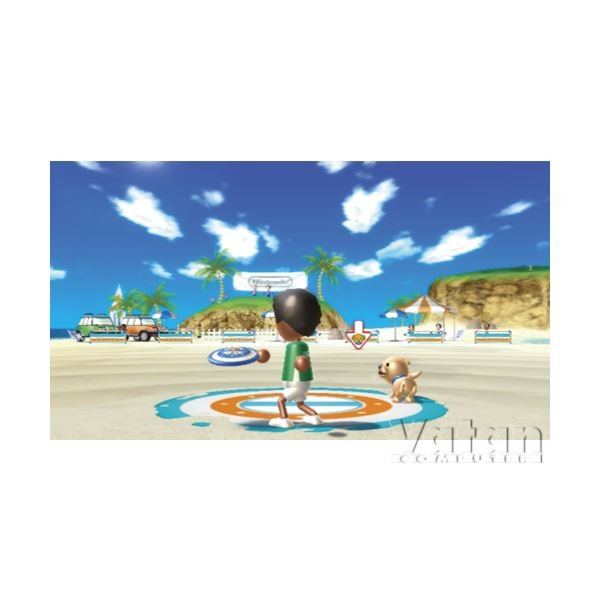 NINTENDO Wii SİYAH Oyun Konsolu + Sports Resort + Motion Plus paket