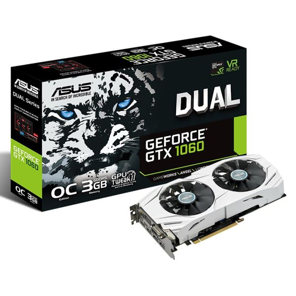 INTEL 8400 - ASUS DUAL-GTX1060-O3G - ASUS TUF Z370 PLUS GAMING - KINGSTON 8GB