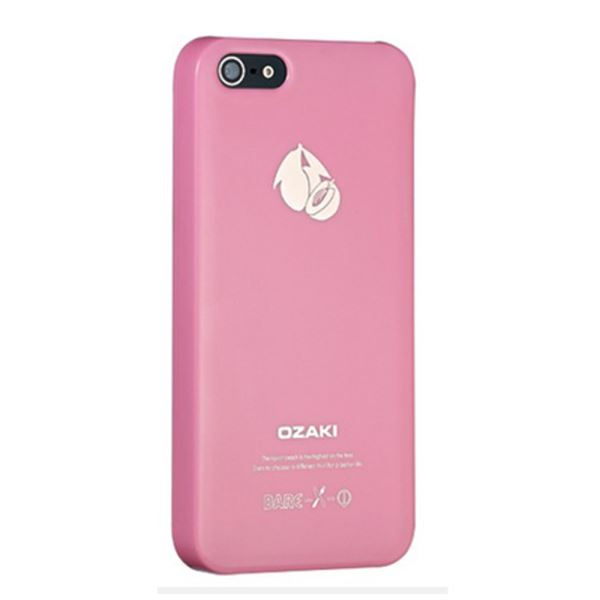 14894 FRUİT PEACH İPHONE 5 KILIF- (PEMBE)