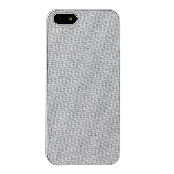 OZAKİ O!COAT 0.3 + CANVAS İPHONE 5/5S KILIFI + EKRAN KORUYUCU FİLM (GRİ)