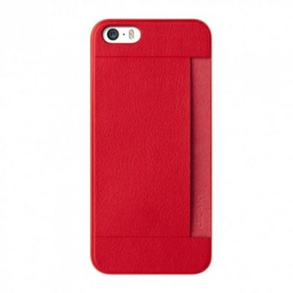 OZAKİ O!COAT 0.3 + POCKET İPHONE 5/5S KILIFI + EKRAN KORUYUCU FİLM (KIRMIZI)