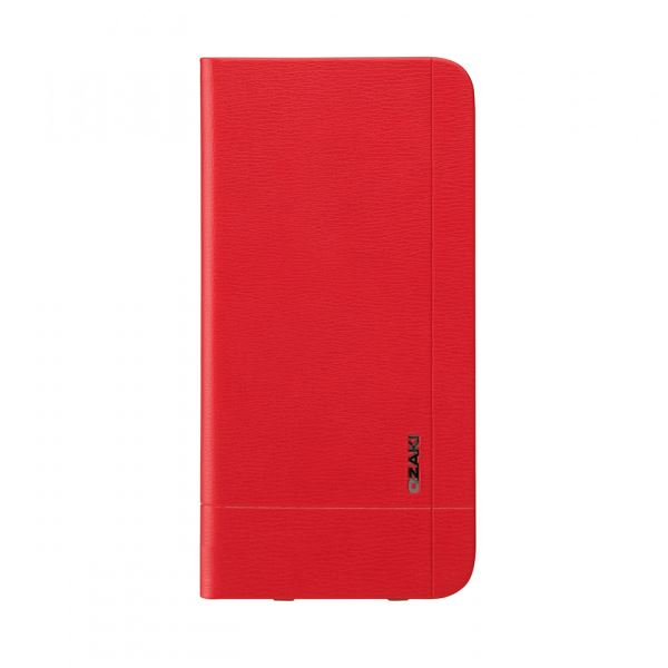 Ozaki O!coat aim+ Leather folio case with pocket iPhone 6 Kılıfı (Kırmızı)