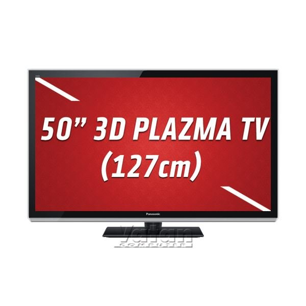 TX-P50UT50E 3D FULL HD 127 cm PLAZMA TV, 1920x1080, 600 Hz
