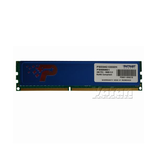 4GB Signature DDR3 1333MHz CL9 Tek Modül Ram
