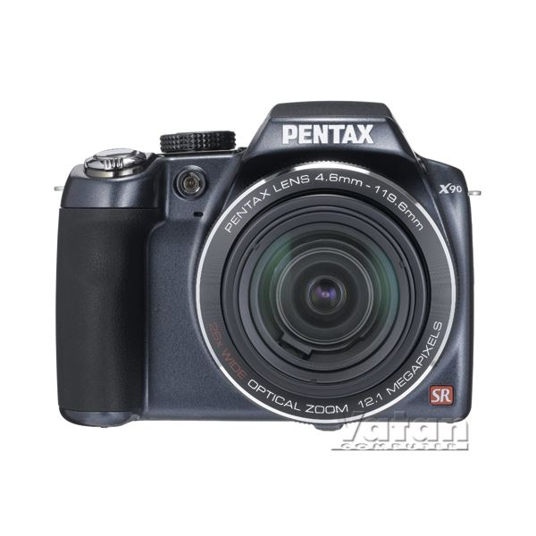 PENTAX X90 12MP 26X OPT. HDVIDEO 2.7 LCD Li-Ion 1/4000 SR