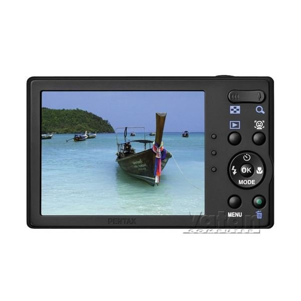 PENTAX RS1000 14MP 4X OPT. HDVIDEO 3.0 LCD Li-Ion 1/2000 SR SİYAH