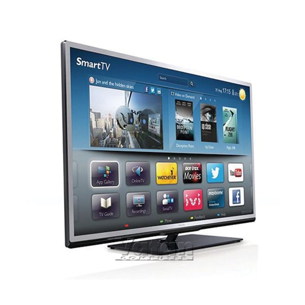 PHILIPS 40PFL4508K/12 40'' 3D FULL HD,Wİ-Fİ ve SMART,200 HZ,SKYPE