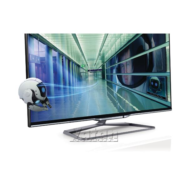 PHILIPS 42PFL7008K 3D LED FULL HD,42''107 CM,1920X1080P,500.000:1,USBX3,HDMIX4