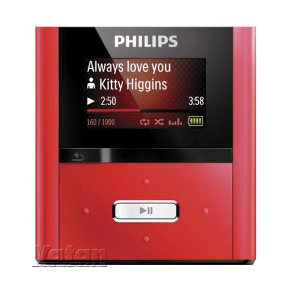 FULLSOUND MP3 PLAYER  2GB- KIRMIZI