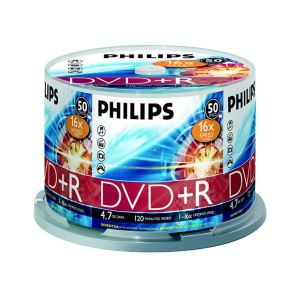PHILIPS DVD+R 16X 4,7GB 50'Lİ CAKE BOX (DR4S6B50F-97)