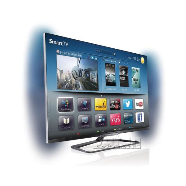 PHILIPS 47PFL6008K/12  47'' 119 CM FULL HD 3D SMART LED TV 500 HZ