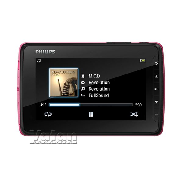 PHILIPS SA4VD404PN/97 MP4 4 GB PEMBE