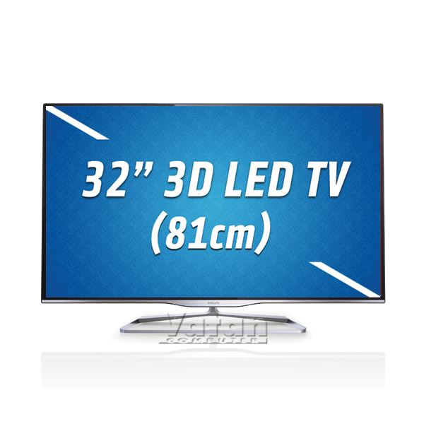 PHILIPS 32PFL5008H/13 32'' 81 CM,FULL HD LED,2D/3D DÖNÜŞTÜRME,2XUSB,WI-FI,300 HZ