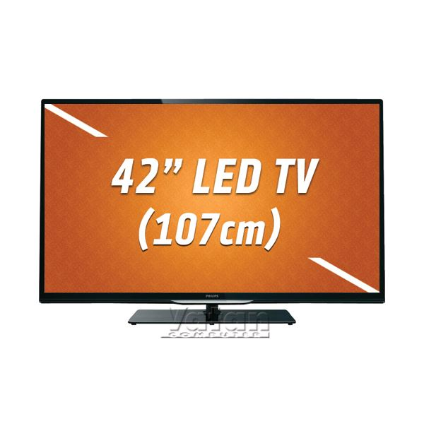 42PFL4208K/13 LED FULL HD ,42''107 CM,1920X1080P,200 Hz,USBX2,HDMIX3